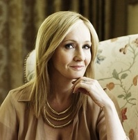 This is a picture of JK Rowling